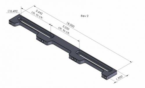 Loc-N-Load 18 Inch Docking Rail
