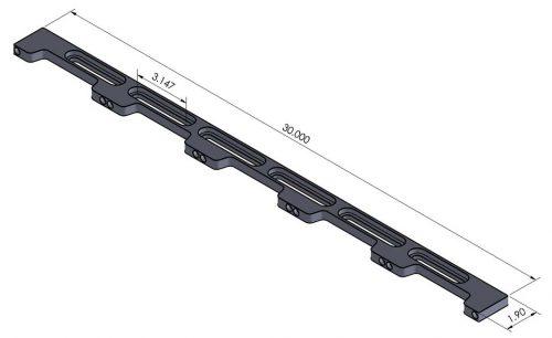 Loc-N-Load 30 Inch Docking Rail