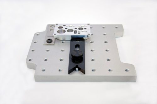 D-Block clamps on LNL 6x6 plate