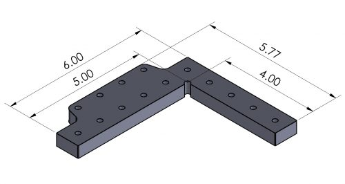 Angle Plate / Stop - Inch