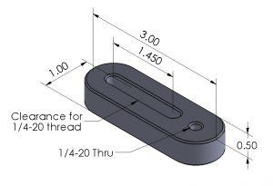 Hole Adjuster for Trigger-Finger Hold Downs
