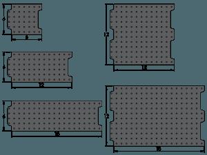 Loc-N-Load Fixture Plates - Inch