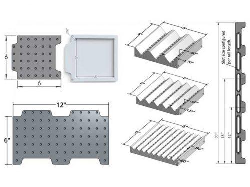 Laser Kit - LA-KIT-02 - Docking Rail & Plates