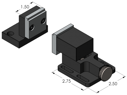 Spanner-Vise™ Dimensions