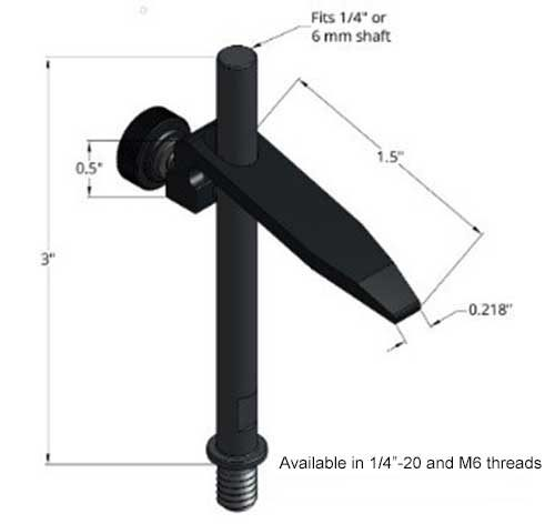 Sturdy Lever Hold Down Clamp - 1.5 Inch