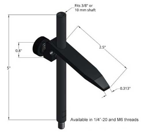 Sturdy Lever Hold Down Clamp - 2.5 Inch