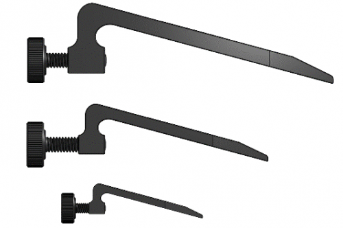 Sturdy Lever Hold Down Clamp - Sideview