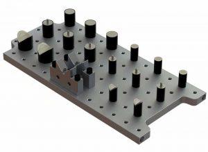 Magnetic Riser Set